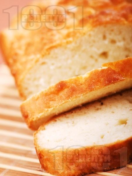 Прясна питка със сода и сирене - снимка на рецептата